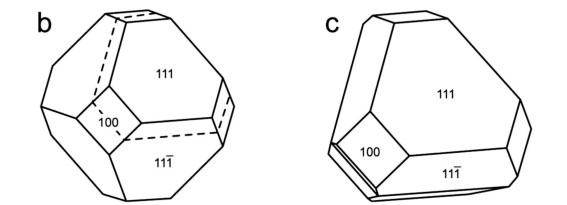 千葉石結晶の理想型