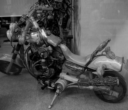 Woody Bike 全体像