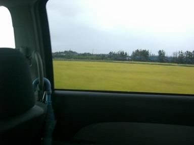 新潟車窓から。