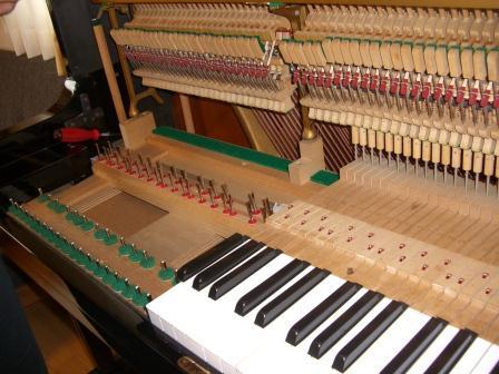 ピアノの調律その①