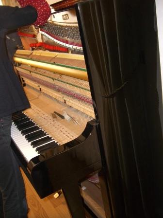 ピアノの調律その②