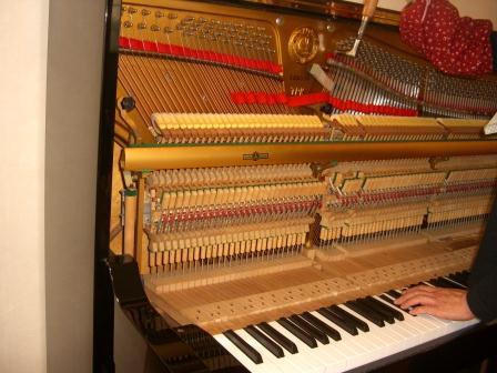 ピアノの調律その③