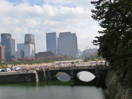 平成24年一般参賀 二重橋を振り返る