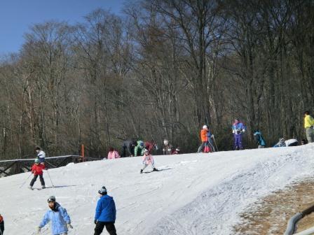 またまたスキーに行きました へっぴり腰・・・
