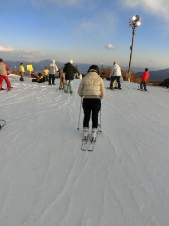 またまたスキーに行きました 上手になりました