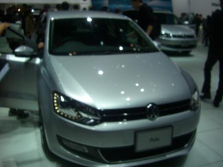 2011東京モーターショー VWポロ