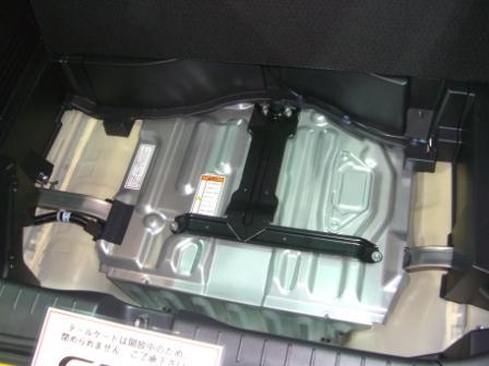2011東京モーターショー CRZバッテリー