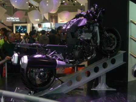 2011東京モーターショー ZX-14Rモノコックボディ