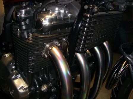 2011東京モーターショー CB1100エンジン
