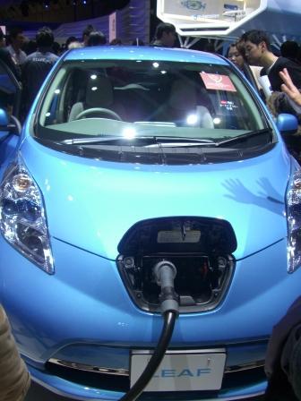 2011東京モーターショー リーフ