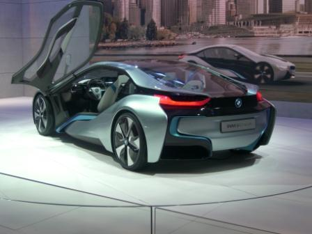 2011東京モーターショー BMWi8