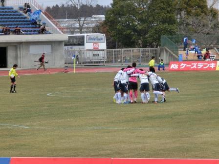 2012 J2 第1節 水戸vs横浜FC キックオフ