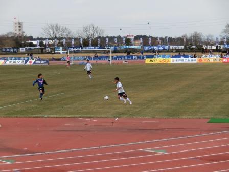 2012 J2 第1節 水戸vs横浜FC 阿部ちゃん頑張れ