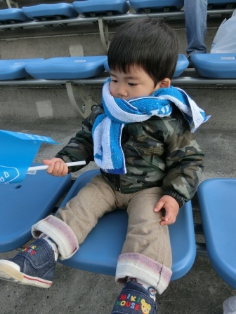 2012 J2第2節 横浜FCvs愛媛FC 僕も応援