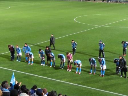 2012 J2第2節 横浜FCvs愛媛FC 残念ながらドロー