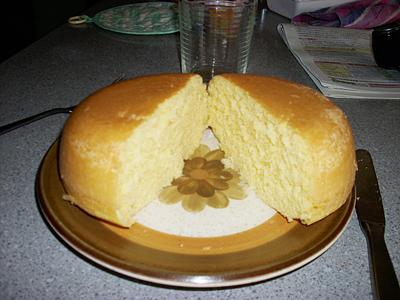 電気釜DEホットケーキ