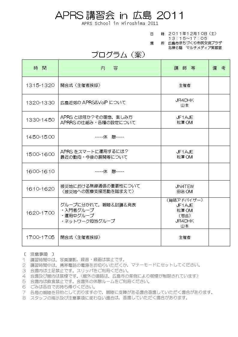 H231028APRS講習会プログラム