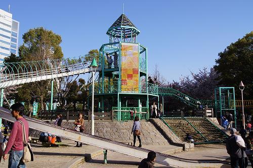 大阪城公園遊具広場