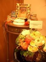 レオッちさんのお花とジュピさん