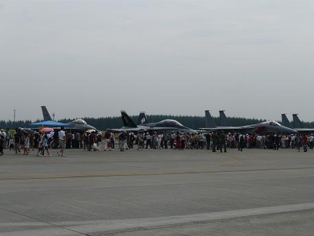 戦闘機たくさん
