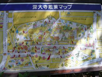 深大寺マップ