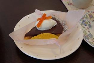 ラ・オレンジチョコケーキ