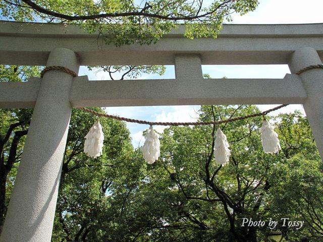湊川神社鳥居