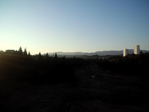 朝の景色!