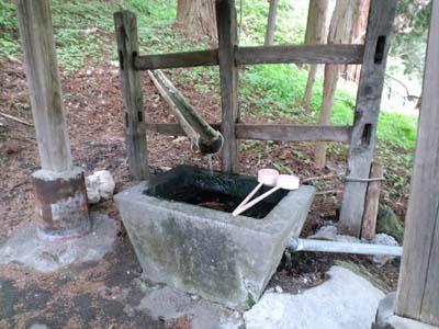熊野神社御神水?