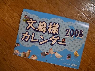ジャーーーーン!!文鳥様カレンダー表紙です♪