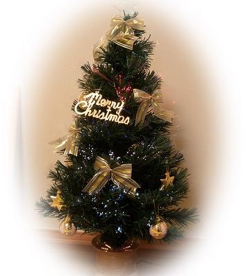 一日だけのクリスマスツリーです^^;