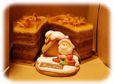 キャラメルなんとか・・・っていう名前のケーキでしたん♪おいしかったー(*´∀`)