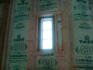 ガラスブロック室内側