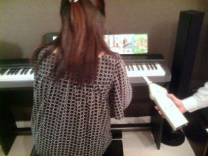 ピアノ音測定