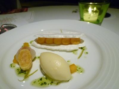 神戸ライフ:パッションクリームとココナツ風味のメレンゲ パイナップルのシャーベットP1000911_convert_20110419160726