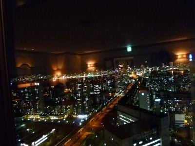 神戸ライフ:サロンからの夜景:P1000922_convert_20110419161420