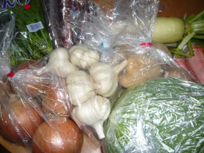 東北の野菜たち