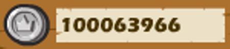 コイン一億枚