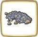オオダコ報酬丸い石