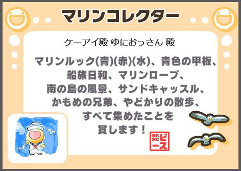 マリンコレクター_賞状