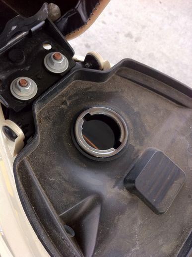 ガソリン補給
