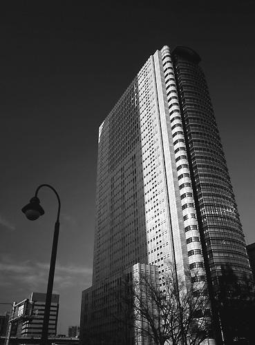 街の風景 BW01