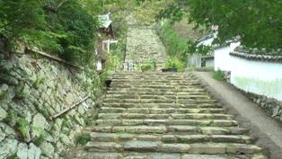 長保寺 階段