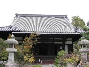 清涼寺 阿弥陀堂