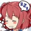 えー・・・別に寝てないっすよぉ・・・えーきさま・・・