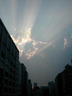 2011夕焼け