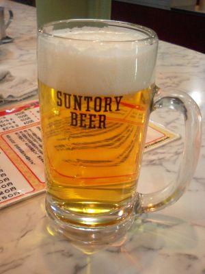 ビールも注文