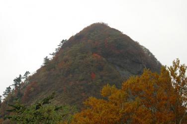 石鎚山紅葉1