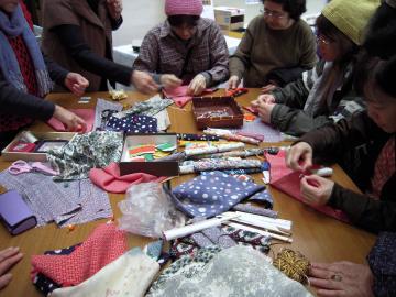 my箸袋作り 3