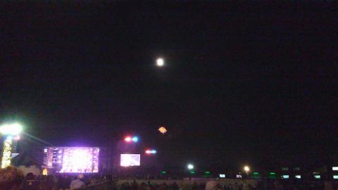 RSR2011 0812 サンステと月